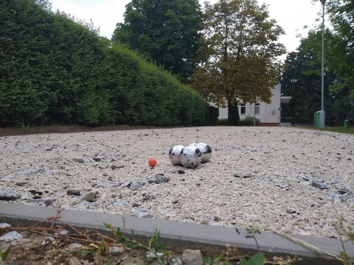 Boisko do gry w boules